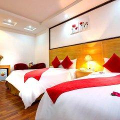 Hanoi Amanda Hotel 3* Стандартный семейный номер с двуспальной кроватью фото 2