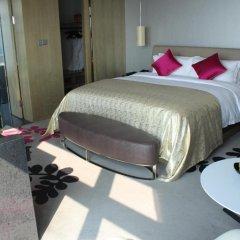Wongtee V Hotel 5* Улучшенный люкс с различными типами кроватей фото 6