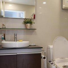 Отель Sky Beach Condominium 2* Улучшенные апартаменты с различными типами кроватей фото 12