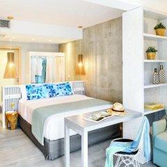 Отель Antigoni Beach Resort 4* Стандартный номер с различными типами кроватей фото 6
