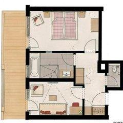 Hotel Feldwebel 4* Люкс с различными типами кроватей фото 5