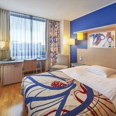 Отель Scandic Hakaniemi 3* Стандартный семейный номер с двуспальной кроватью фото 4