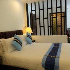 Aranta Airport Hotel 3* Семейный номер Делюкс с двуспальной кроватью фото 4