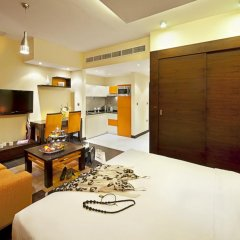 Marina View Deluxe Hotel Apartment 5* Студия с различными типами кроватей фото 5