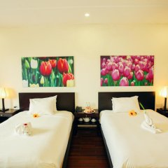 Отель Thanh Binh Riverside Hoi An 4* Номер Делюкс с 2 отдельными кроватями фото 14