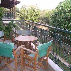 Отель Sapfo Beach Studios Ситония балкон