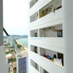 Апартаменты Sunrise Ocean View Apartment Апартаменты Эконом фото 11