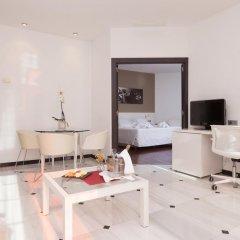 Отель URH Ciutat de Mataró 4* Стандартный номер двуспальная кровать фото 7