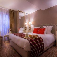 Отель Hôtel Champerret Héliopolis 3* Стандартный номер с различными типами кроватей фото 6