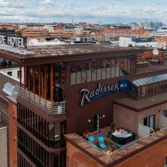 Radisson Blu Seaside Hotel, Helsinki 4* Представительский люкс с различными типами кроватей фото 2