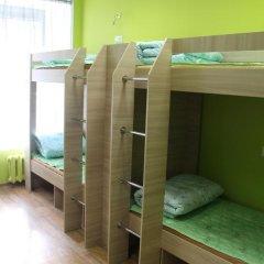 Хостел Позитив Кровать в общем номере с двухъярусной кроватью фото 11