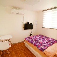 YaKorea Hostel Dongdaemun Стандартный номер с двуспальной кроватью фото 7