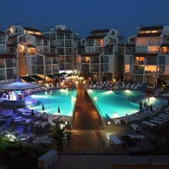 Отель Aparthotel Elit 2 Болгария, Солнечный берег - отзывы, цены и фото номеров - забронировать отель Aparthotel Elit 2 онлайн бассейн фото 3