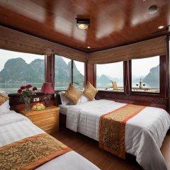 Отель Halong Golden Bay Cruise Стандартный семейный номер фото 2