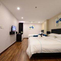 Hanoi Emerald Waters Hotel & Spa 4* Семейный номер Делюкс с двуспальной кроватью фото 4