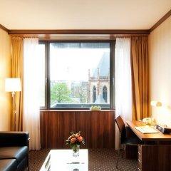 Living Hotel Düsseldorf by Derag 4* Номер Бизнес с различными типами кроватей фото 4