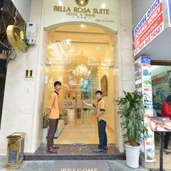 Отель Hanoi Bella Rosa Suite Hotel Вьетнам, Ханой - отзывы, цены и фото номеров - забронировать отель Hanoi Bella Rosa Suite Hotel онлайн интерьер отеля фото 3