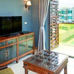 Отель Rocco Huahin Condominium Апартаменты с 2 отдельными кроватями фото 30