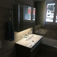 Отель Roccabella Швейцария, Давос - отзывы, цены и фото номеров - забронировать отель Roccabella онлайн ванная фото 2