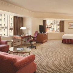 Отель Hilton San Francisco Union Square 4* Полулюкс с различными типами кроватей фото 4