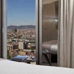 Отель Meliá Barcelona Sky 4* Стандартный номер с различными типами кроватей фото 3