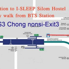 I-Sleep Silom Hostel городской автобус