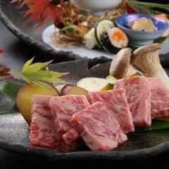 Отель Oyado Kafugetsu Минамиогуни питание фото 2