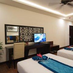 Pearl River Hoi An Hotel & Spa 3* Улучшенный номер с различными типами кроватей фото 3