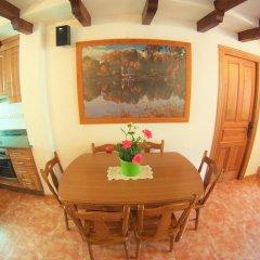 Отель Viviendas Rurales El Canton Тресвисо питание