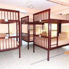 Jinda Hostel Кровать в общем номере с двухъярусной кроватью