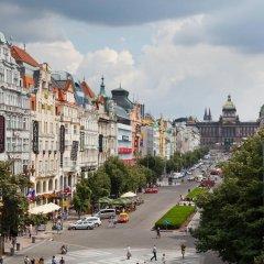 Hotel Prague Inn Прага балкон