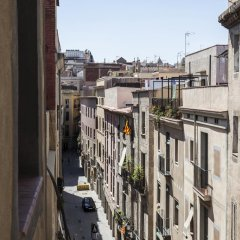 Апартаменты Plaza Catalunya apartments балкон