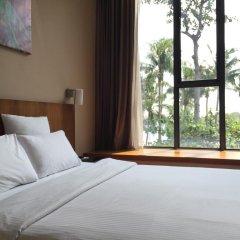 Отель Siloso Beach Resort, Sentosa 3* Улучшенный номер с различными типами кроватей фото 5
