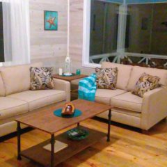 Отель Serenity Beach Cottages Гондурас, Остров Утила - отзывы, цены и фото номеров - забронировать отель Serenity Beach Cottages онлайн комната для гостей фото 4