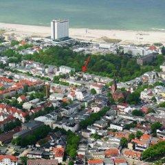 Отель Kurpark-Oase пляж
