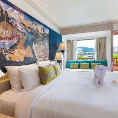 Отель Novotel Phuket Resort 4* Улучшенный номер с двуспальной кроватью