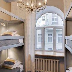 Hotel & Hostel Vstrechi na Arbate Номер с общей ванной комнатой с различными типами кроватей (общая ванная комната) фото 4