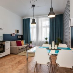 Апартаменты Comfortable Prague Apartments Улучшенные апартаменты с различными типами кроватей фото 4