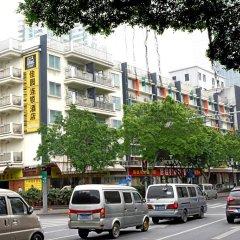 Отель 4th Zhongshan Road Garden Inn парковка