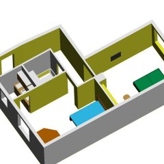 Апартаменты Flex Apartments балкон