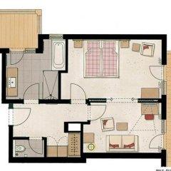 Hotel Feldwebel 4* Люкс с различными типами кроватей фото 7