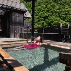 Отель Hakkei Мисаса бассейн фото 2