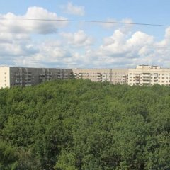Гостиница 33 Kvartirki Apartment on Ulitsa Rossiyskaya 10 в Уфе отзывы, цены и фото номеров - забронировать гостиницу 33 Kvartirki Apartment on Ulitsa Rossiyskaya 10 онлайн Уфа балкон