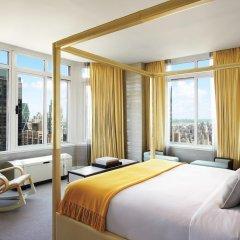 Отель Conrad New York Midtown 4* Люкс с различными типами кроватей фото 12