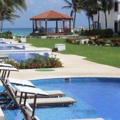 Отель Hilton Playa Del Carmen 5* Полулюкс с различными типами кроватей фото 4
