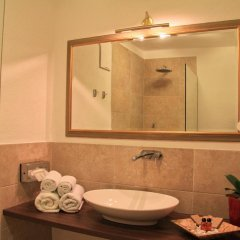 Отель Paulus Apartments Италия, Чермес - отзывы, цены и фото номеров - забронировать отель Paulus Apartments онлайн ванная