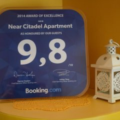 Апартаменты Near Citadel Apartment интерьер отеля