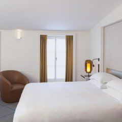 Отель Hôtel Opéra Richepanse 4* Люкс с различными типами кроватей фото 18
