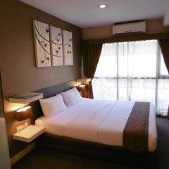 Отель Green Bells Residence New Petchburi Стандартный номер