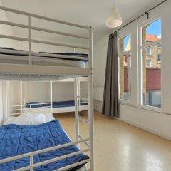 Brussel Hello Hostel Кровать в женском общем номере с двухъярусной кроватью фото 12